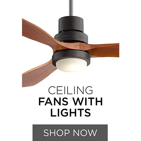 Ceiling Fans with Lights - 100's of Combos Ready to Install