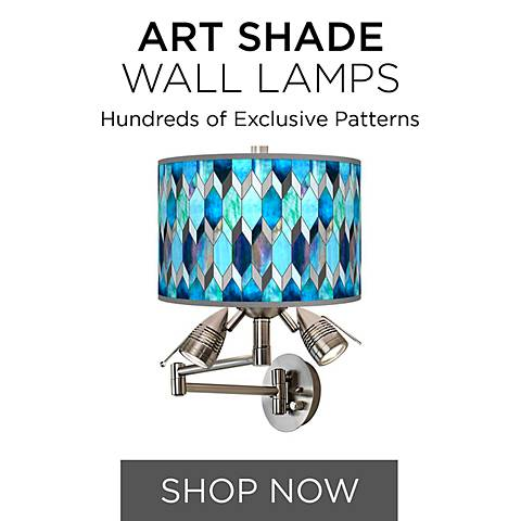 Browse Our Collection of Art Shade Wall Lights