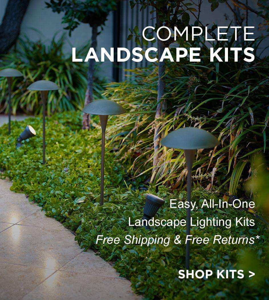 free shipping u0026amp free returns on landscape lighting kits - Landscape Lighting Kits