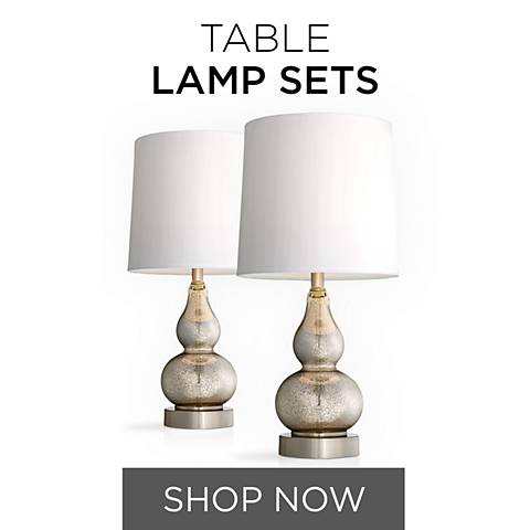 Save more by shopping our lamp sets