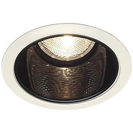Juno 6 Line Voltage Slope Ceiling Recessed Light Trim 00182 Lamps Plus