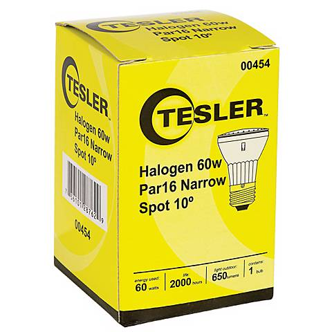 Tesler PAR16 Halogen 60 Watt Light Bulb