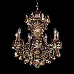 Gold, Crystal, Chandeliers | Lamps Plus