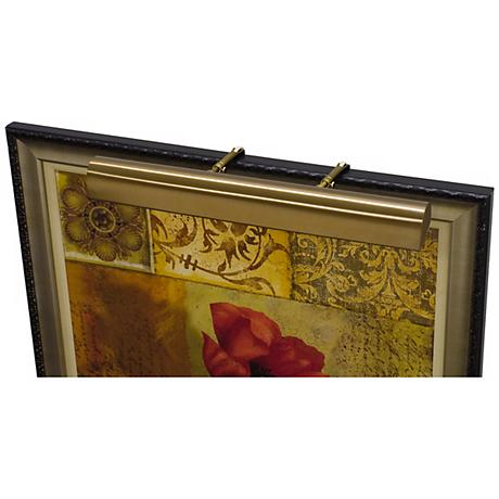 """House of Troy 30"""" Wide Bronze Plug-in Picture Light"""