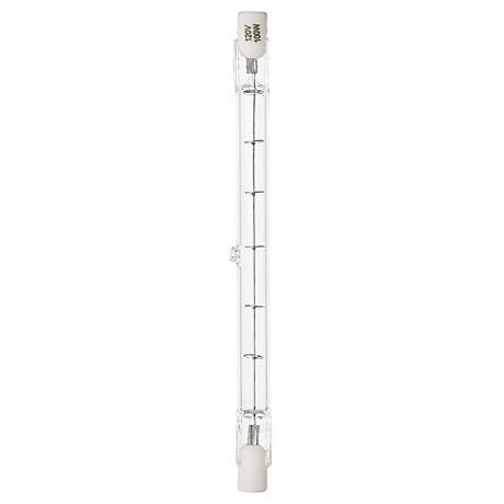 Tesler Double-End Long 100 Watt Halogen Light Bulb