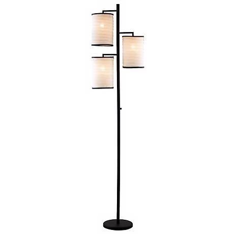 Bellows Three Lite Tree Floor Lamp