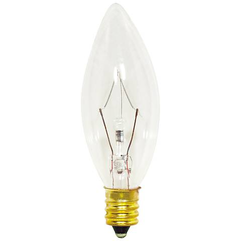 40 Watt Clear Candelabra Light Bulb