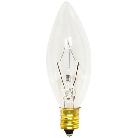 40 Watt Clear Candelabra Light Bulb