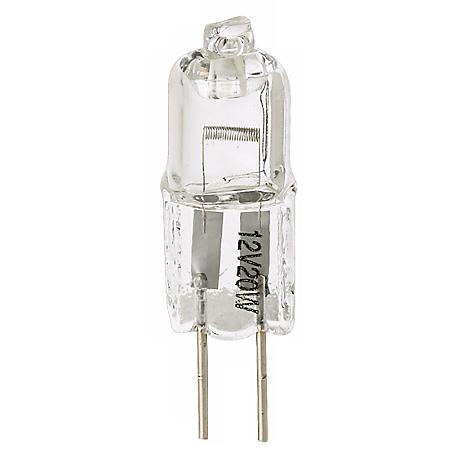 Tesler 20 Watt Halogen G4 Bi-Pin Low Voltage Light Bulb