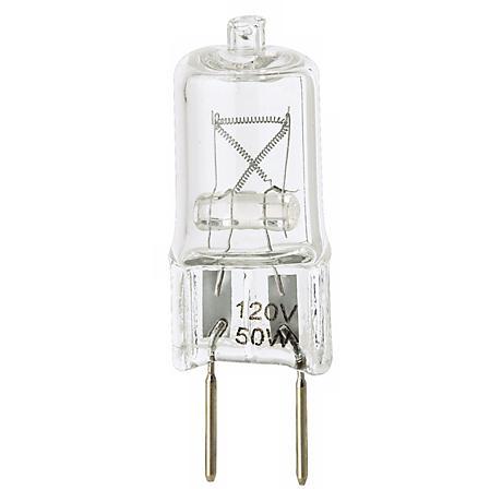 Tesler 50 Watt Halogen 120 Volt G8 Bi-Pin Light Bulb