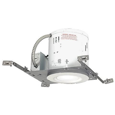"""6"""" New Construction Non-IC 19 Watt LED Complete Recessed Kit"""
