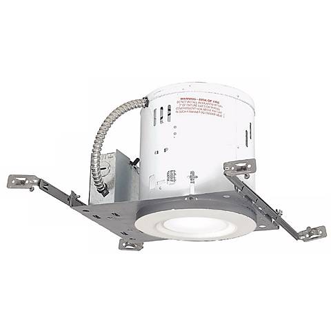 """6"""" New Construction Non-IC 11 Watt LED Complete Recessed Kit"""