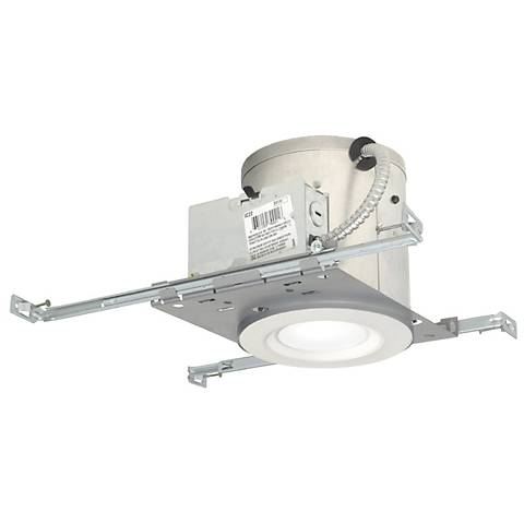 """6"""" IC New Construction 19 Watt LED Complete Recessed Kit"""