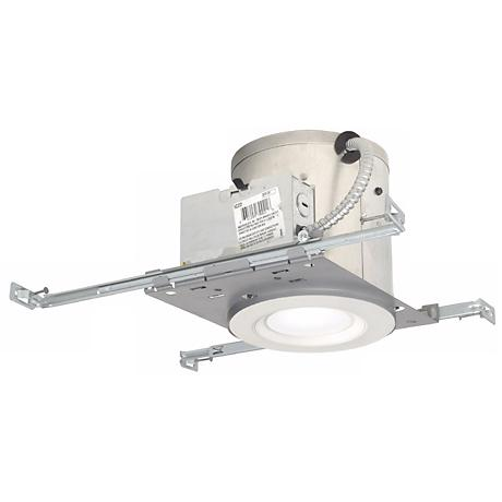 """6"""" IC New Construction 11 Watt LED Complete Recessed Kit"""
