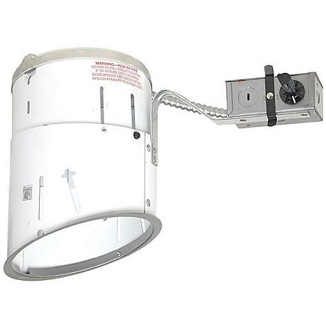 juno 6 line voltage sloped remodel recessed light housing. Black Bedroom Furniture Sets. Home Design Ideas