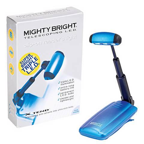 Mighty Bright Blue Telescoping LED Reader's Light