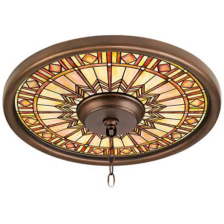 Mackintosh Sun 16 Quot Wide Bronze Finish Ceiling Medallion