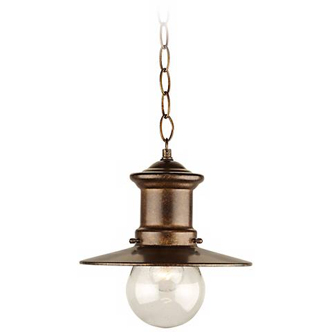 "Maritime Collection 10"" High Hanging Outdoor Light"
