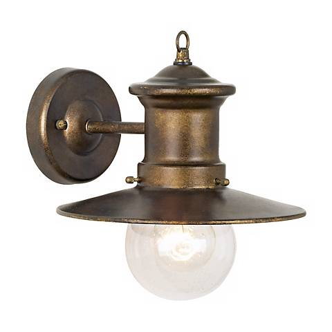 """Maritime Collection 10"""" High Outdoor Wall Light"""