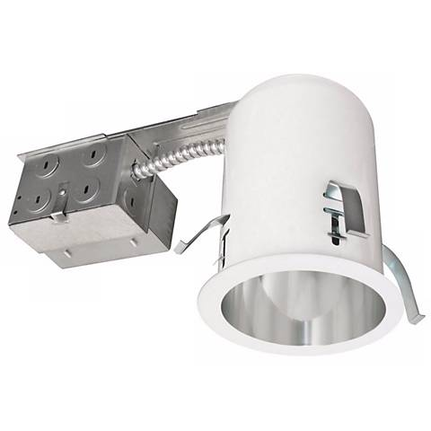 "Intense 4"" Non-IC Fluorescent Remodel Recessed Housing"