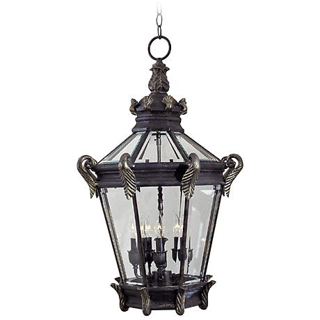 """Stratford Hall Collection 30"""" High Outdoor Hanging Lantern"""
