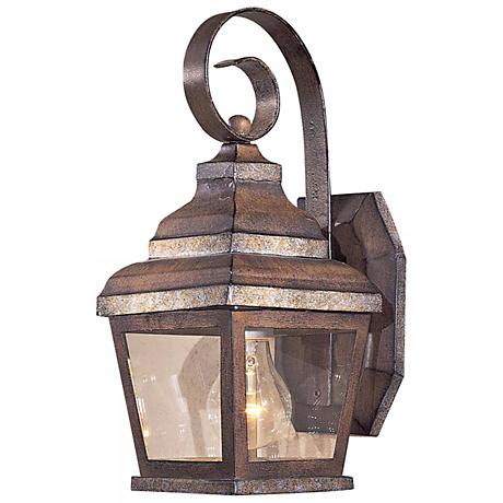 """Mossoro Collection 14 1/4"""" High Outdoor Wall Light"""