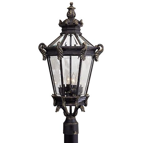 """Stratford Hall Collection 28"""" High Post Mount"""