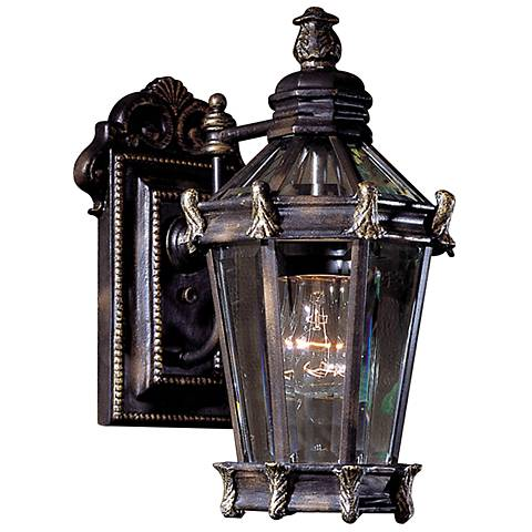 "Stratford Hall Collection 14 7/8"" High Outdoor Wall Light"