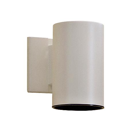 "Kichler Tube 7"" High White Dark Sky Outdoor Wall Light"