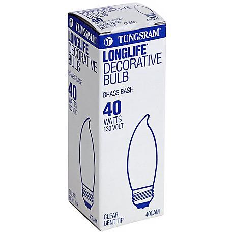 Tungsram Long Life Decorative 40 Watt Medium Base Bulb