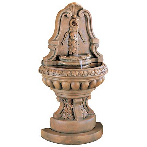 "Henri Studio Grande Murabella Garden 65"" High Wall Fountain"