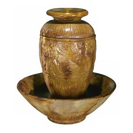 "Henri Studio Roman Jar 42"" High Fountain"