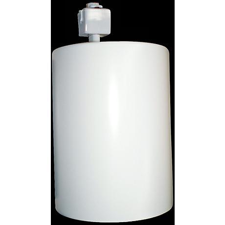 Pro Track™ Flat Cylinder White Track Light