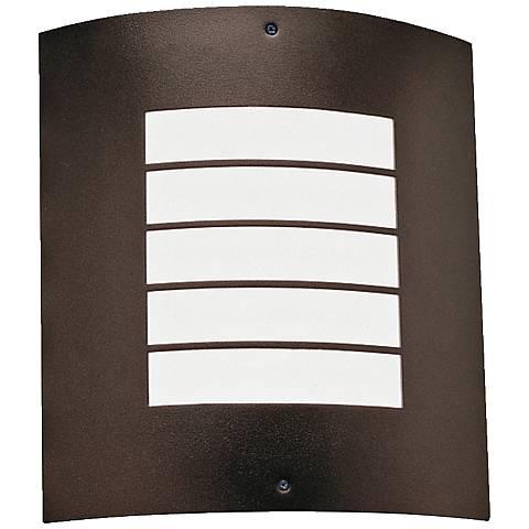 """Kichler Newport 10 1/4"""" High Bronze Outdoor Wall Light"""
