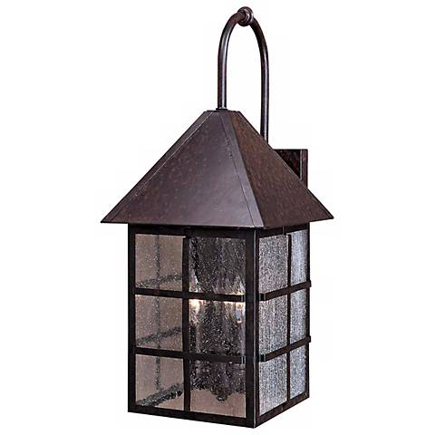 "Townsend Collection Solid Brass 20 1/2"" High Outdoor Light"