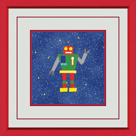"Outerspace A 15"" Square Wall Art"