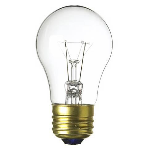A-15 Two Pack 25-Watt Clear Fan  Bulbs
