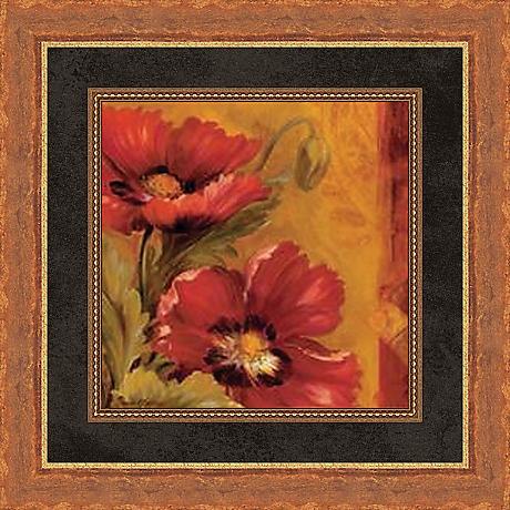 "Pandora's Bouquet Study I 19 1/2"" Square Wall Art"