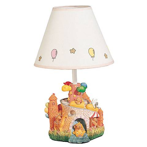 "Children's Carnival Park 14 1/2""H Fun Accent Table Lamp"