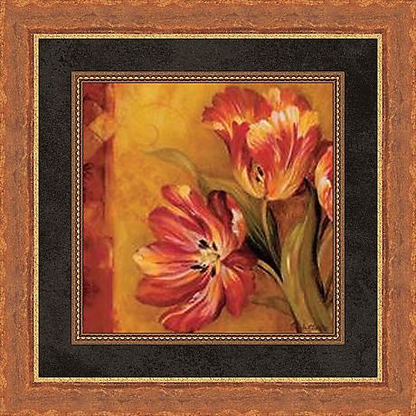 "Pandora's Bouquet Study II 19 1/2"" Square Wall Art"