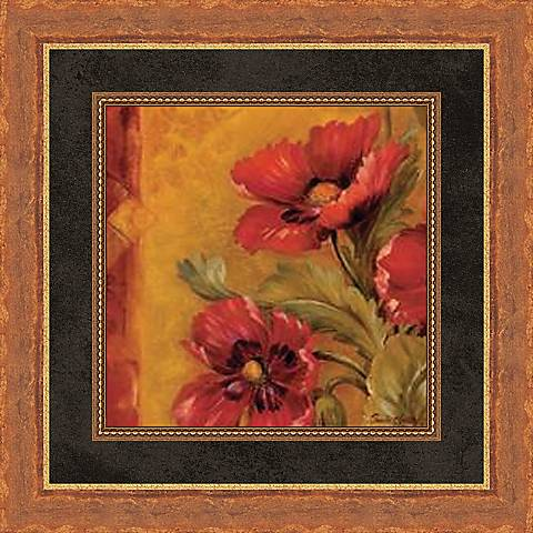 "Pandora's Bouquet Study IV 19 1/2"" Square Wall Art"