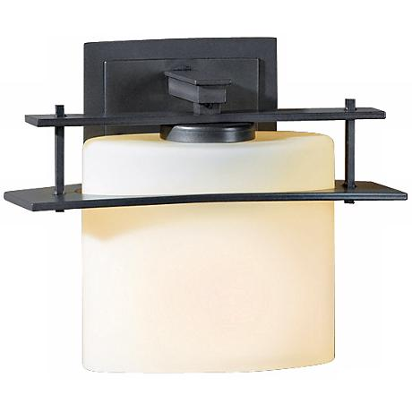 """Arc Ellipse Collection Opal Glass 7 1/2"""" High Wall Sconce"""