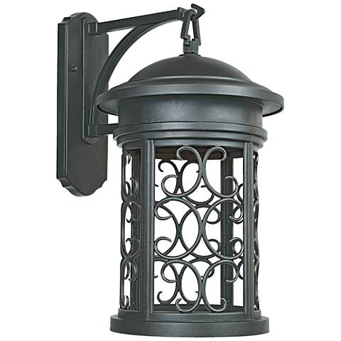 "Ellington 20"" High Oil-Rubbed Bronze Outdoor Wall Light"