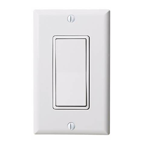 3 Way White Rocker Switch by Leviton