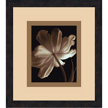"Champagne Tulip B 18 1/2"" High Wall Art"