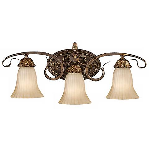 """Feiss Sonoma Valley 25"""" Wide Three Light Wall Sconce"""