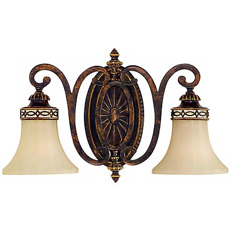 """Feiss Edwardian Collection 18"""" Wide Bathroom Light Fixture"""