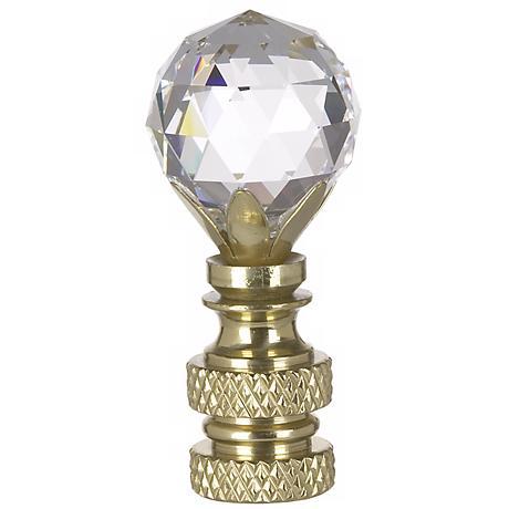 Swarovski Crystal Ball Lamp Shade Finial