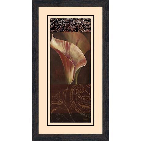 """Sunlit Calla Lily A 26 1/2"""" High Wall Art"""
