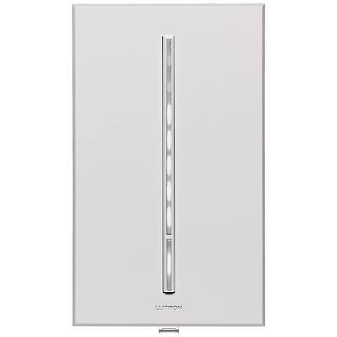 Lutron Vierti 600 Watt White LED Multilocation White Dimmer